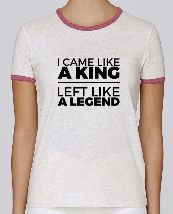 T-shirt Femme Stella Returns I came like a king II pour femme par tunetoo