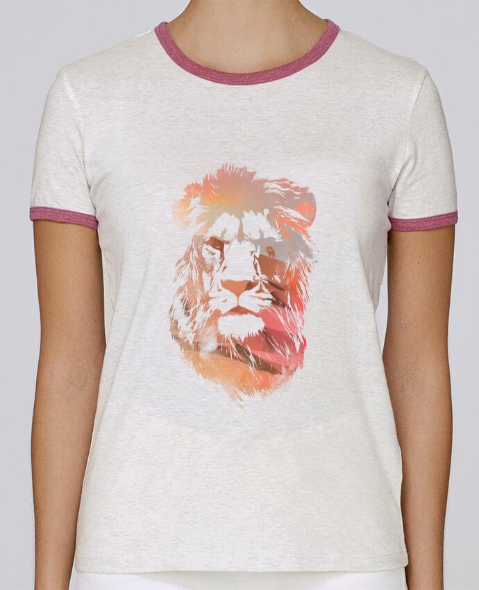 T-shirt Femme Stella Returns Desert lion pour femme par robertfarkas