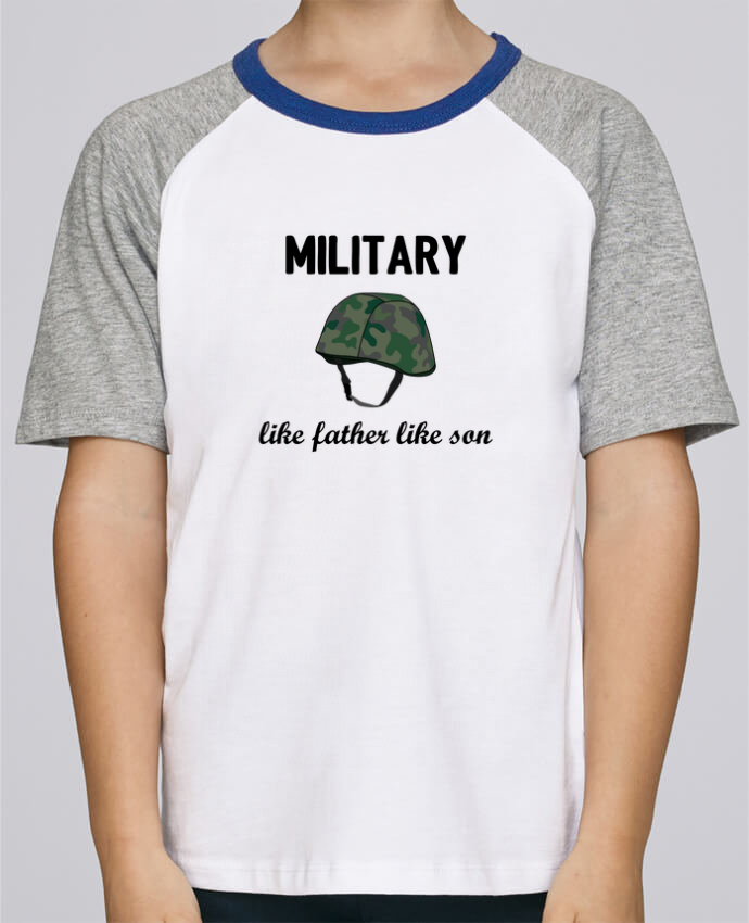 Tee-Shirt Enfant Stanley Mini Jump Short Sleeve Military Like father like son par tunetoo