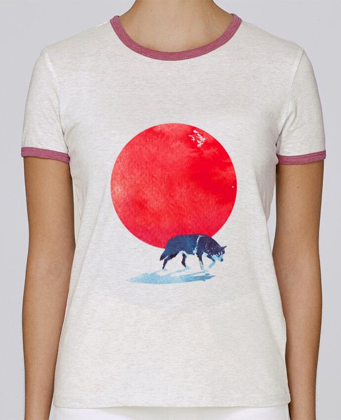 T-shirt Femme Stella Returns Fear the red pour femme par robertfarkas