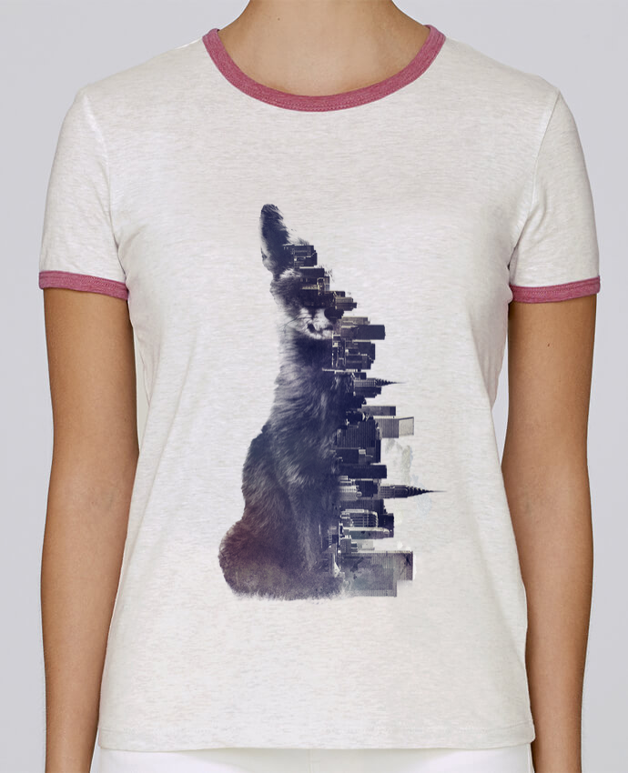 T-shirt Femme Stella Returns Fox from the city pour femme par robertfarkas