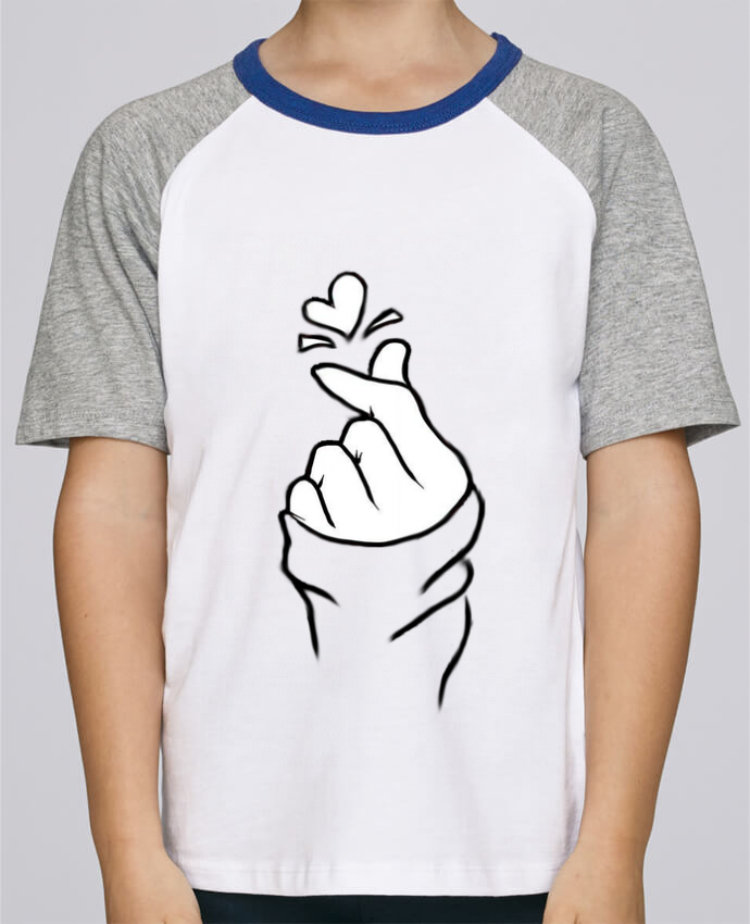 Tee-Shirt Enfant Stanley Mini Jump Short Sleeve love par DesignMe