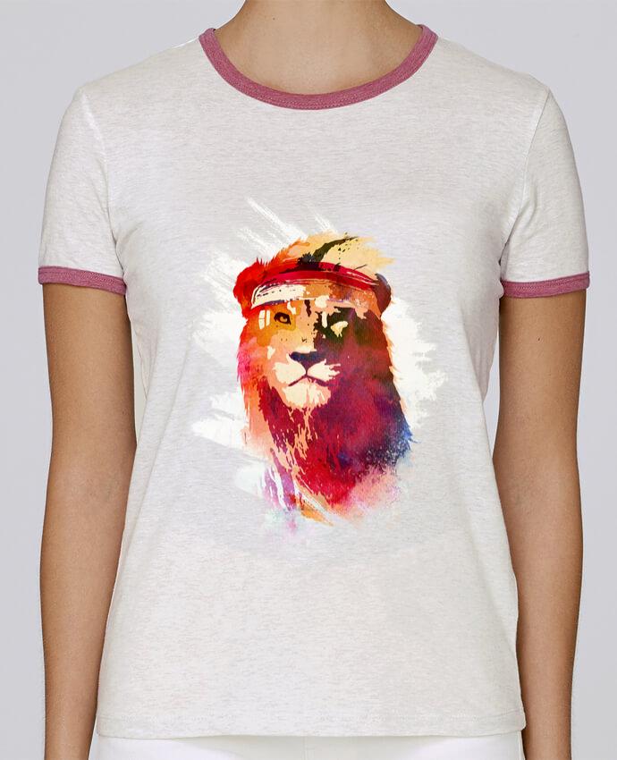 T-shirt Femme Stella Returns Gym lion pour femme par robertfarkas