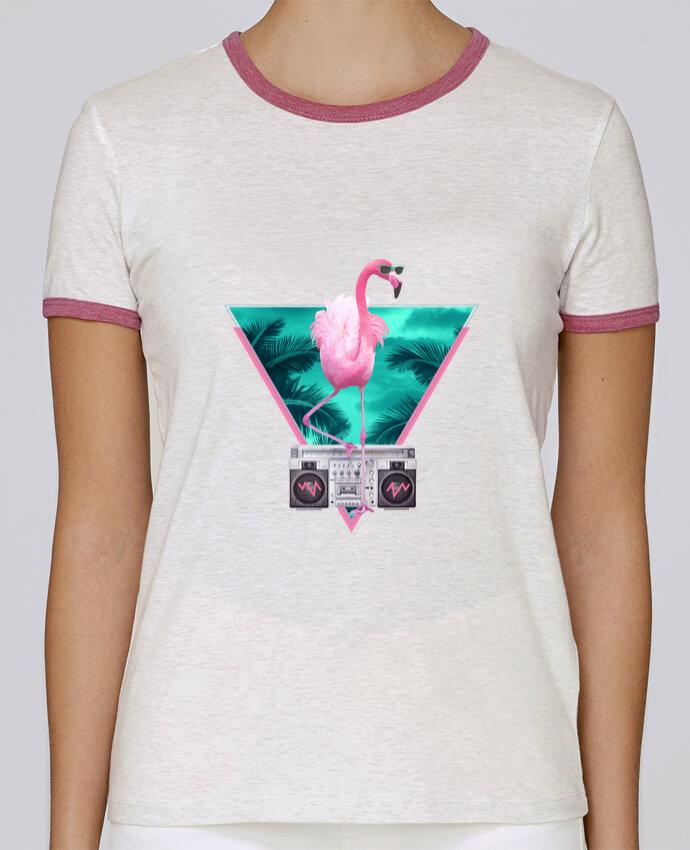 T-shirt Femme Stella Returns Miami flamingo pour femme par robertfarkas