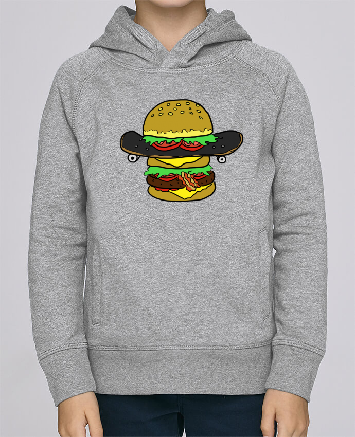 Sweat à Capuche Enfant Stanley Mini Base Skateburger par Salade