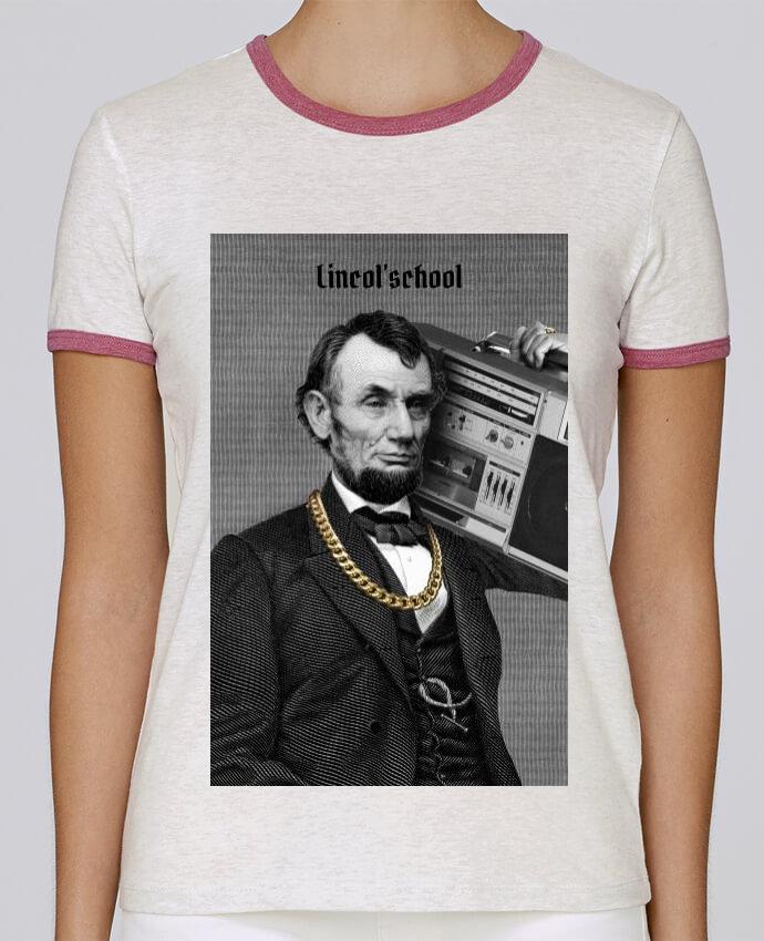 T-shirt Femme Stella Returns Lincol'school pour femme par Ads Libitum