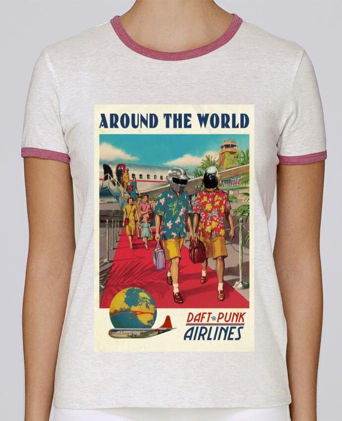 T-shirt Femme Stella Returns Arount the World pour femme par Ads Libitum