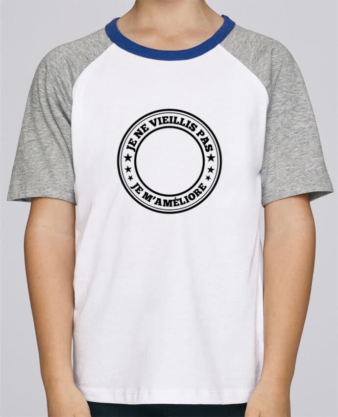 02de027d27703 Tee-Shirt Enfant Stanley Mini Jump Short Sleeve Anniversaire à personnaliser  par justsayin