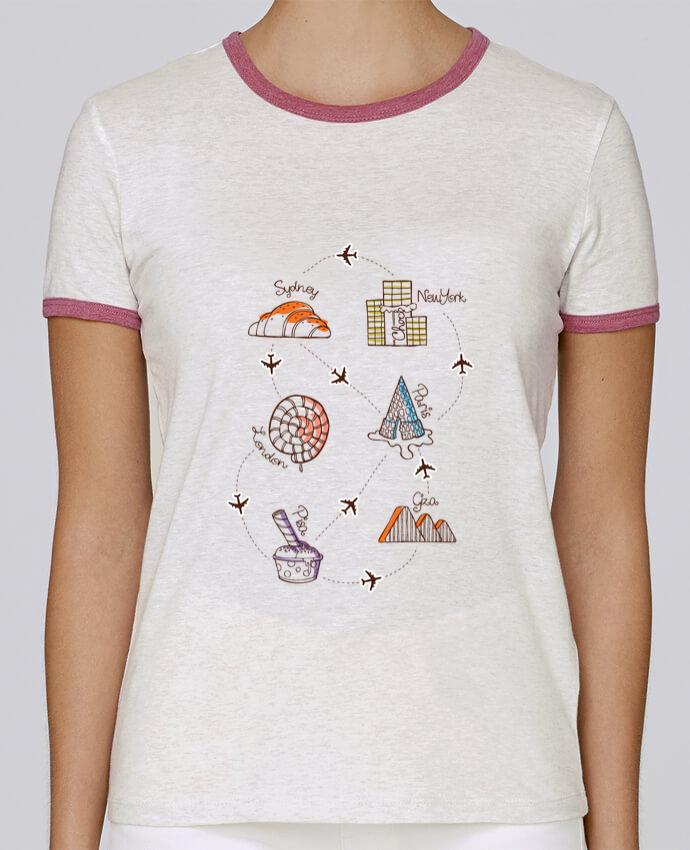T-shirt Femme Stella Returns Sweet travel pour femme par robertfarkas