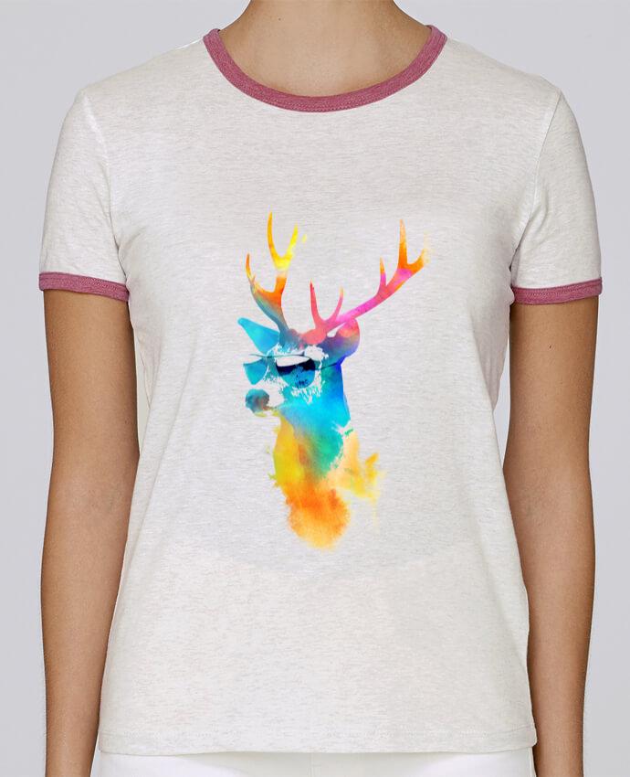 T-shirt Femme Stella Returns Sunny stag pour femme par robertfarkas