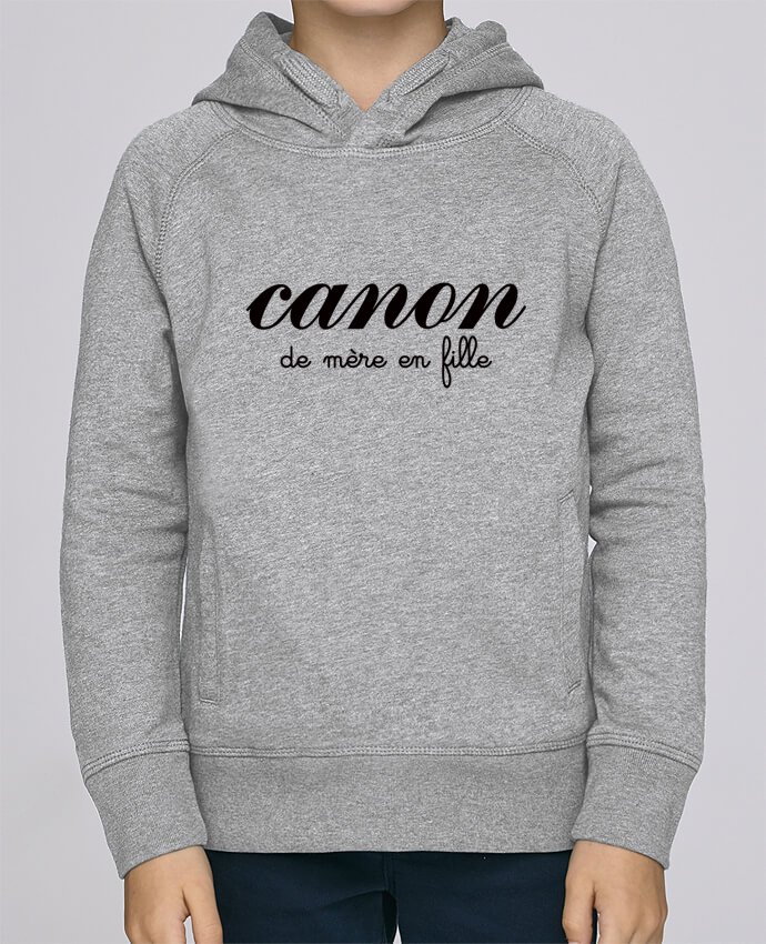 Sweat à Capuche Enfant Stanley Mini Base Canon de mère en fille par Freeyourshirt.com