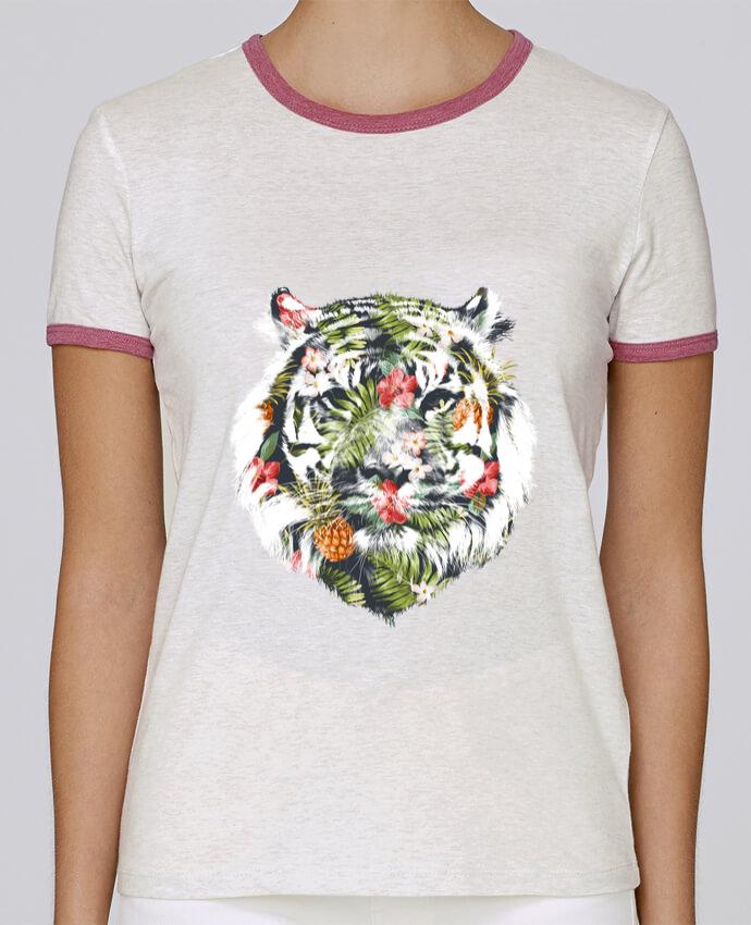 T-shirt Femme Stella Returns Tropical tiger pour femme par robertfarkas
