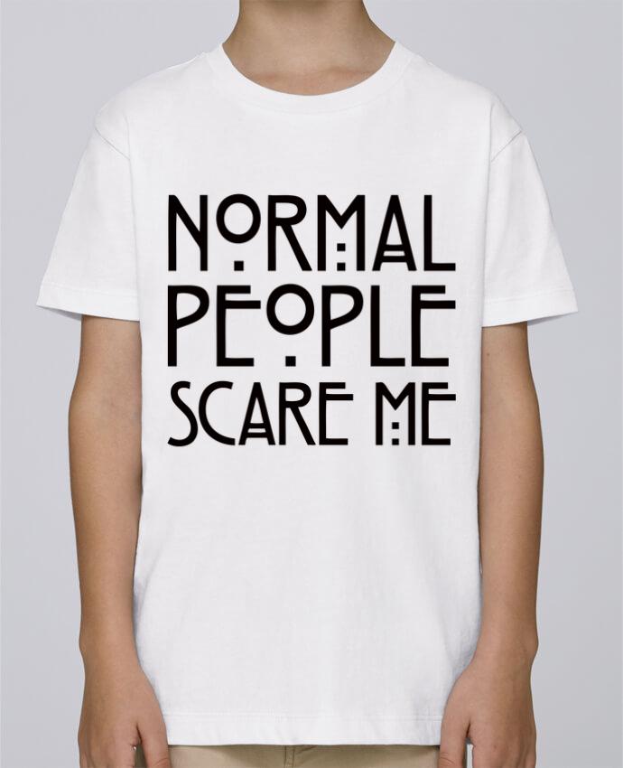 Tee Shirt Garçon Stanley Mini Paint Normal People Scare Me par Freeyourshirt.com