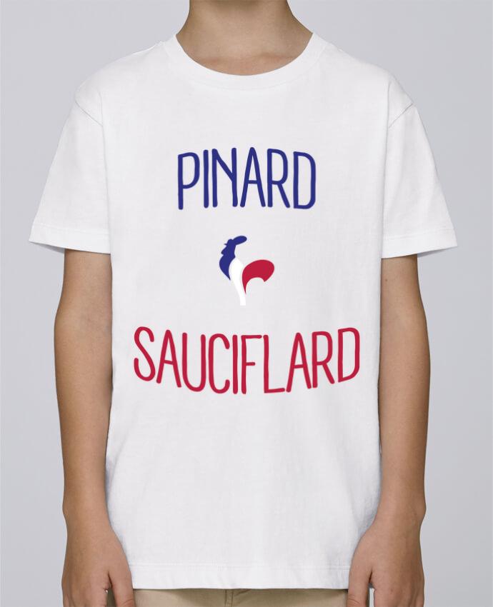 Tee Shirt Garçon Stanley Mini Paint Pinard Sauciflard par Freeyourshirt.com