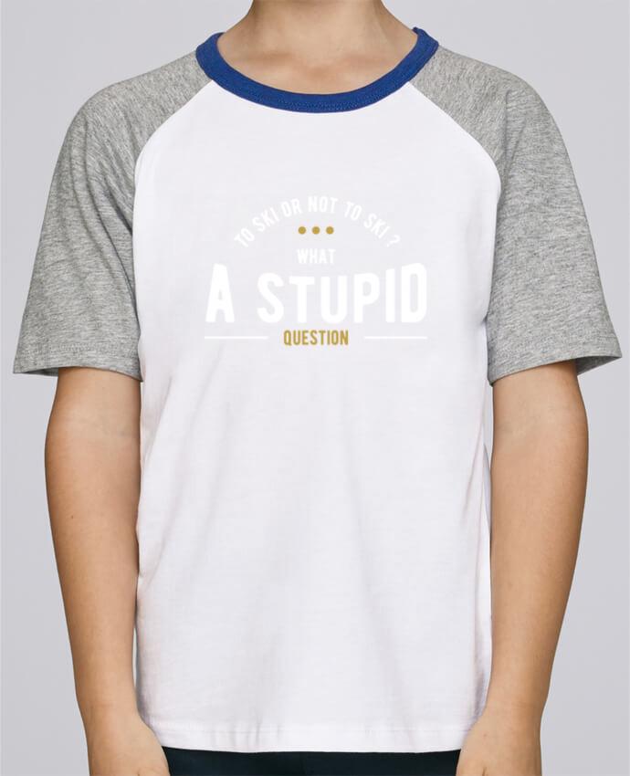 a35dd463c04fd Tee-Shirt Enfant Stanley Mini Jump Short Sleeve Ski Shakespeare par Original  t-shirt