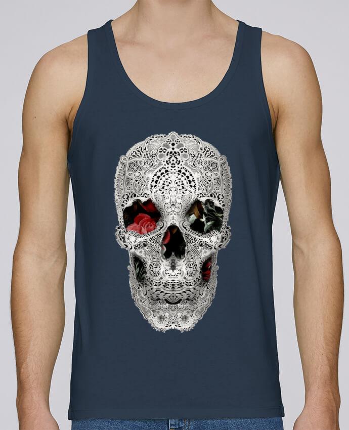 Débardeur Bio Homme Stanley Runs Lace skull 2 light par ali_gulec 100% coton bio