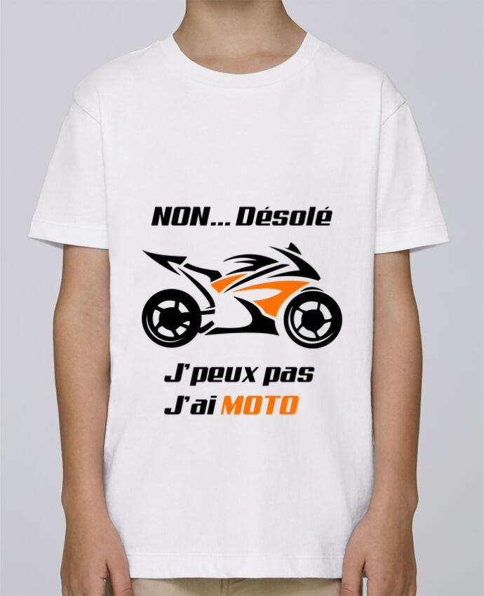 Tee Shirt Garçon Stanley Mini Paint J'peux pas j'ai moto par MotorWave's