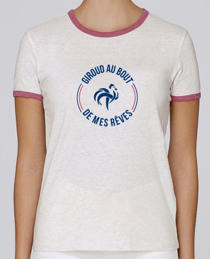 T-shirt Femme Stella Returns Giroud au bout de mes rêves pour femme par tunetoo