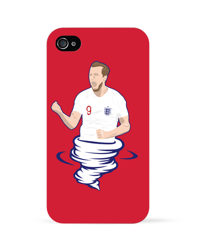 Coque iPhone 4 Harry Kane Nickname par  tunetoo