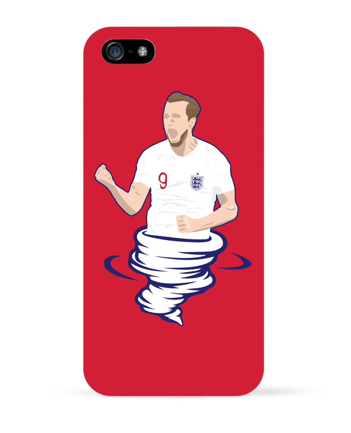 Coque iPhone 5 Harry Kane Nickname par tunetoo
