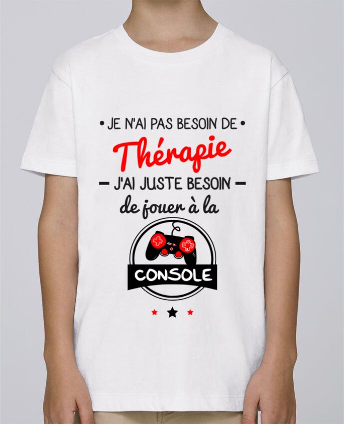 Tee Shirt Garçon Stanley Mini Paint Tee shirt marrant pour geek,gamer : Je n'ai pas besoin de thérapie, j'ai juste beso