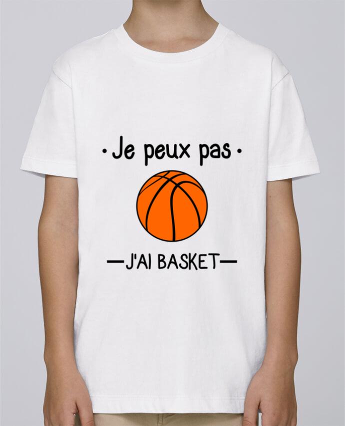 Tee Shirt Garçon Stanley Mini Paint Je peux pas j'ai basket,basketball,basket-ball par Benichan