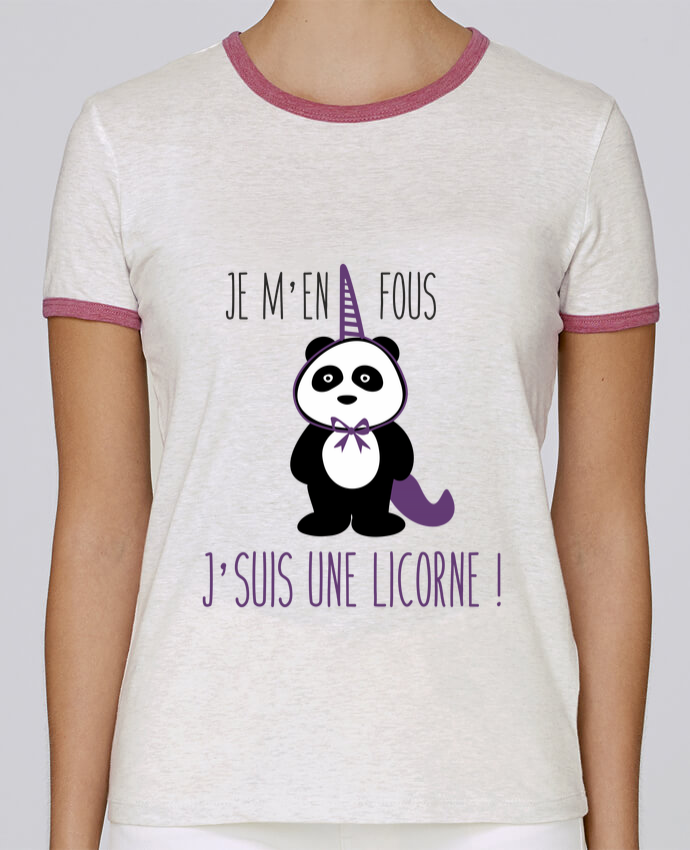 T-shirt Femme Stella Returns Je m'en fous j'suis une licorne pour femme par Benichan