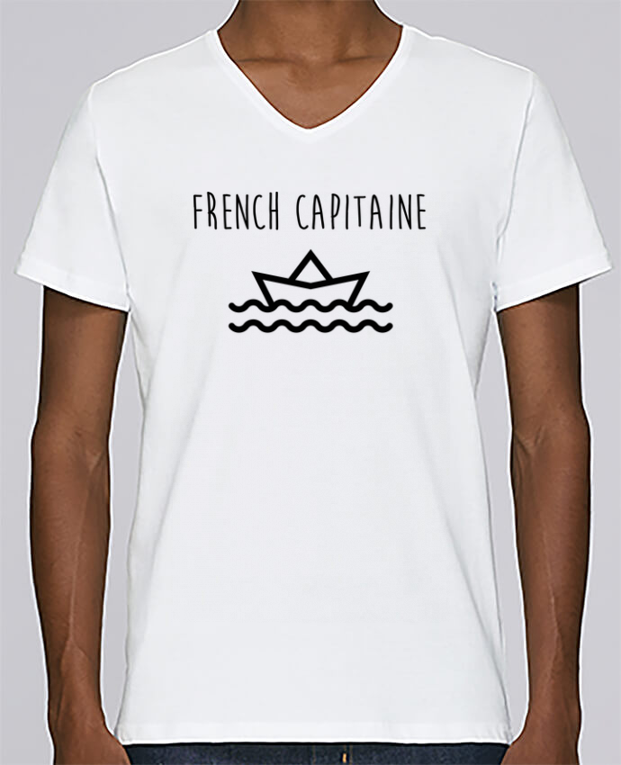 T-shirt Col V Homme Stanley Relaxes French capitaine par Ruuud