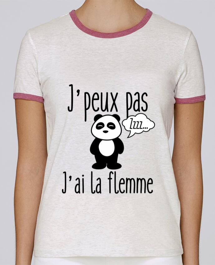 T-shirt Femme Stella Returns J'peux pas j'ai la flemme pour femme par Benichan