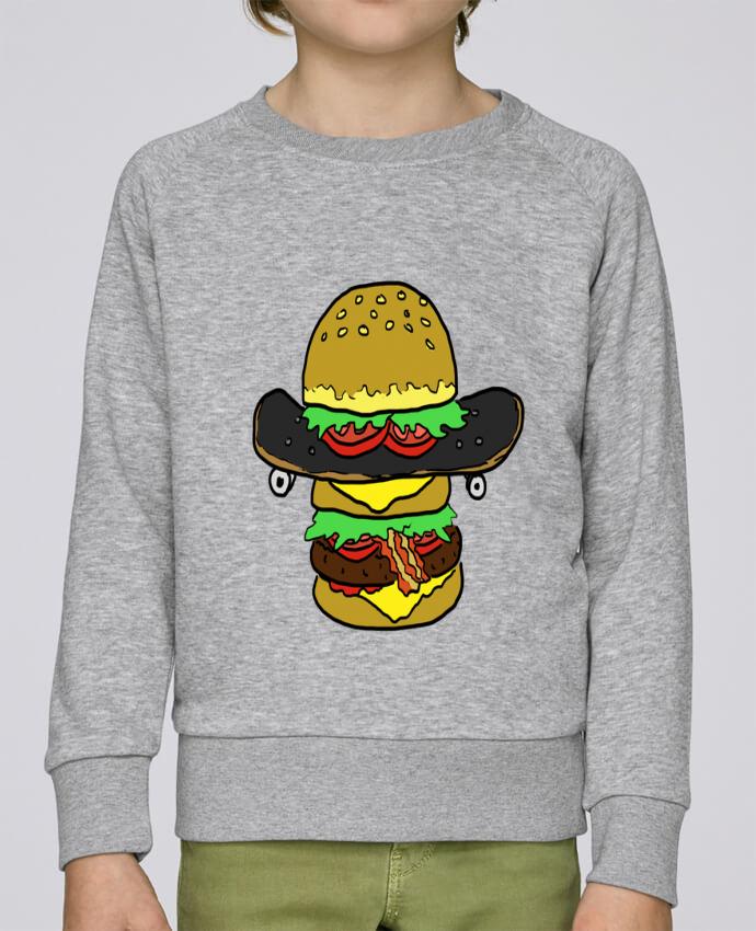 Sweat Col Rond Enfant Stanley Mini Scouts Skateburger par Salade