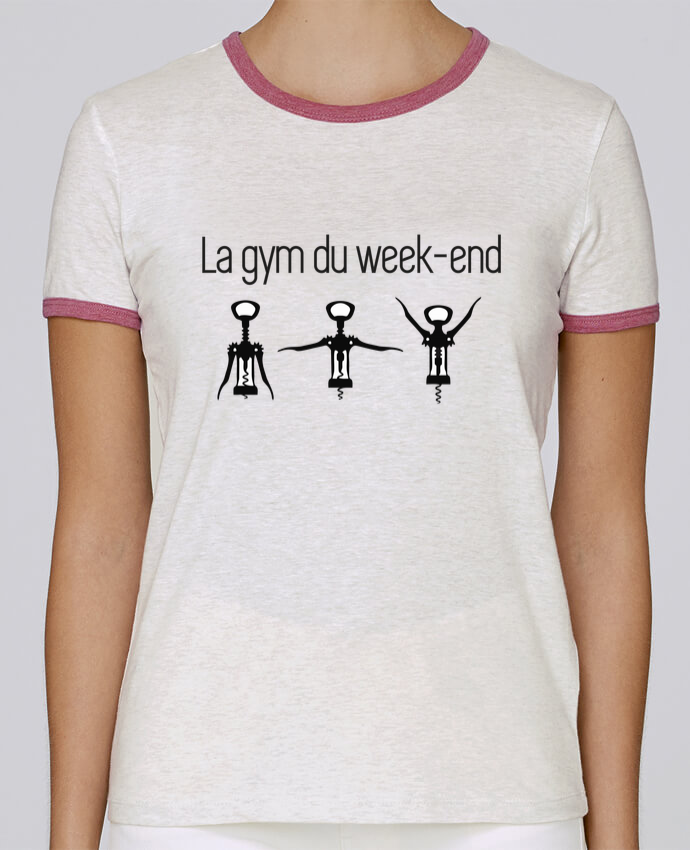 T-shirt Femme Stella Returns La gym du week-end pour femme par Benichan