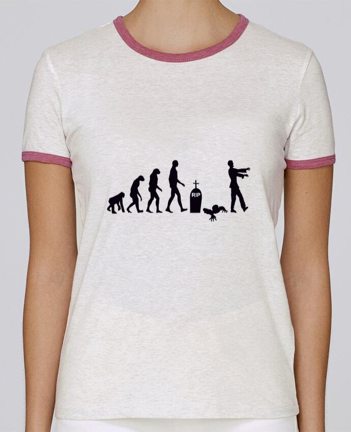 T-shirt Femme Stella Returns Zombie évolution pour femme par Benichan