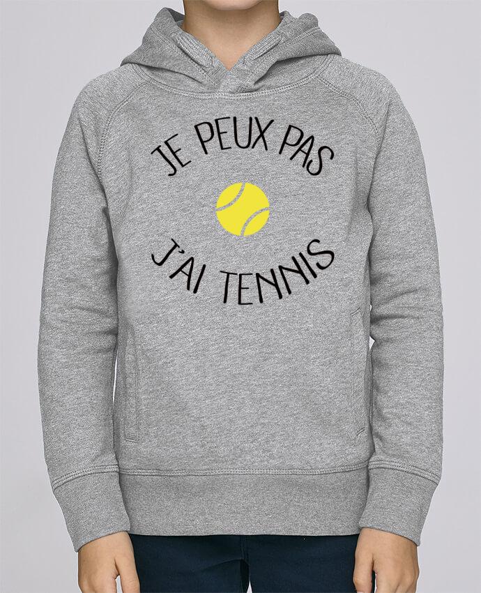 Sweat à Capuche Enfant Stanley Mini Base Je peux pas j'ai Tennis par Freeyourshirt.com