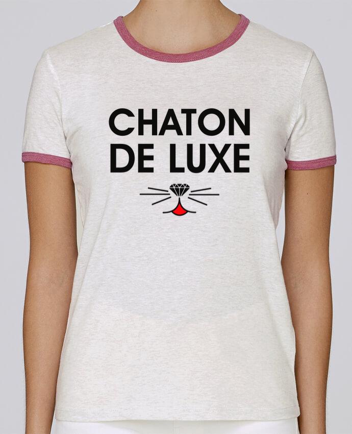 de0c51e5a39 T-shirt Femme Stella Returns Chaton de luxe pour femme 100% coton ...