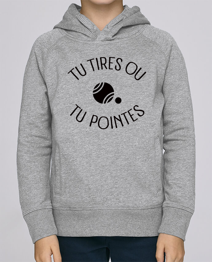 Sweat à Capuche Enfant Stanley Mini Base Tu Tires Ou Tu Pointes par Freeyourshirt.com