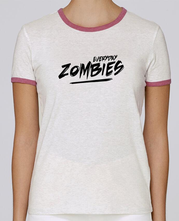 T-shirt Femme Stella Returns Everyday Zombies pour femme par tunetoo