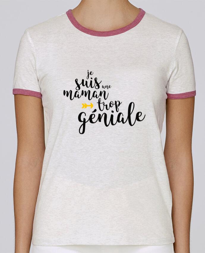 T-shirt Femme Stella Returns Je suis une maman trop géniale pour femme par tunetoo