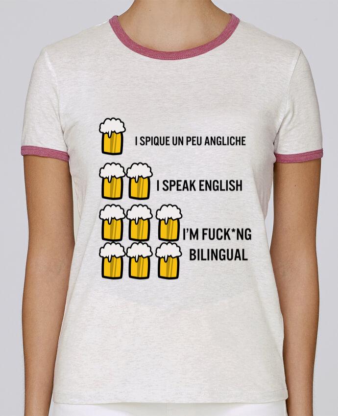 T-shirt Femme Stella Returns I'm bilingual pour femme par Kudice
