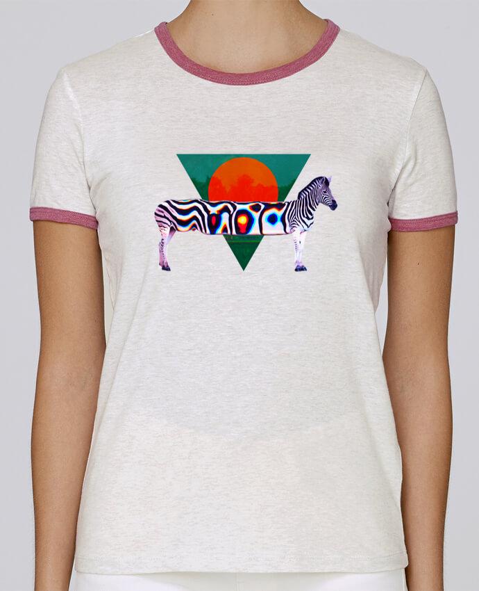 T-shirt Femme Stella Returns Zebra pour femme par ali_gulec