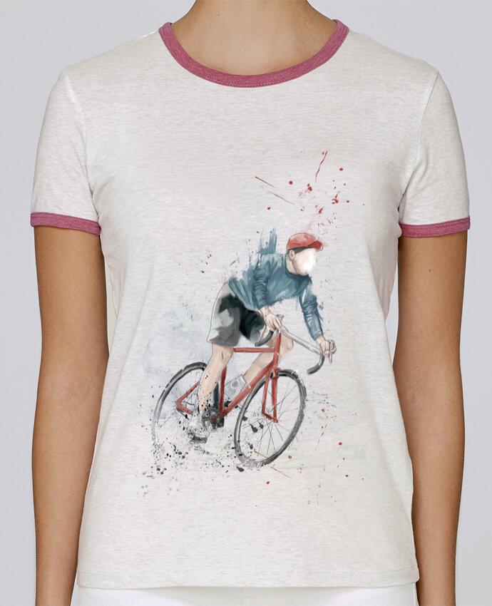 T-shirt Femme Stella Returns I want to Ride pour femme par Balàzs Solti
