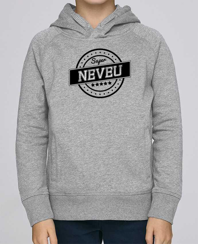 Sweat à Capuche Enfant Stanley Mini Base Super neveu par justsayin