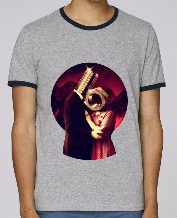 T-Shirt Ringer Contrasté Homme Stanley Holds Screw Love pour femme par ali_gulec