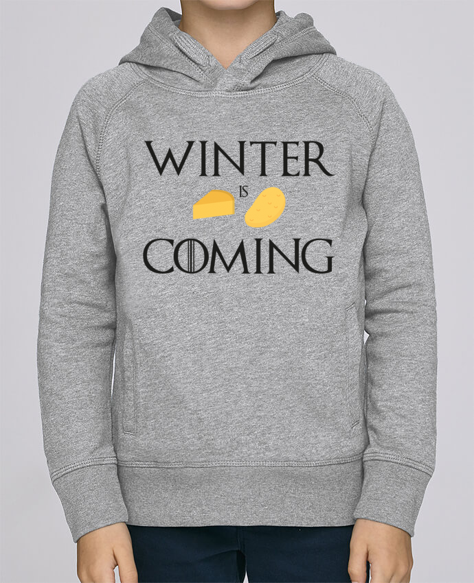 Sweat à Capuche Enfant Stanley Mini Base Winter is coming par Ruuud