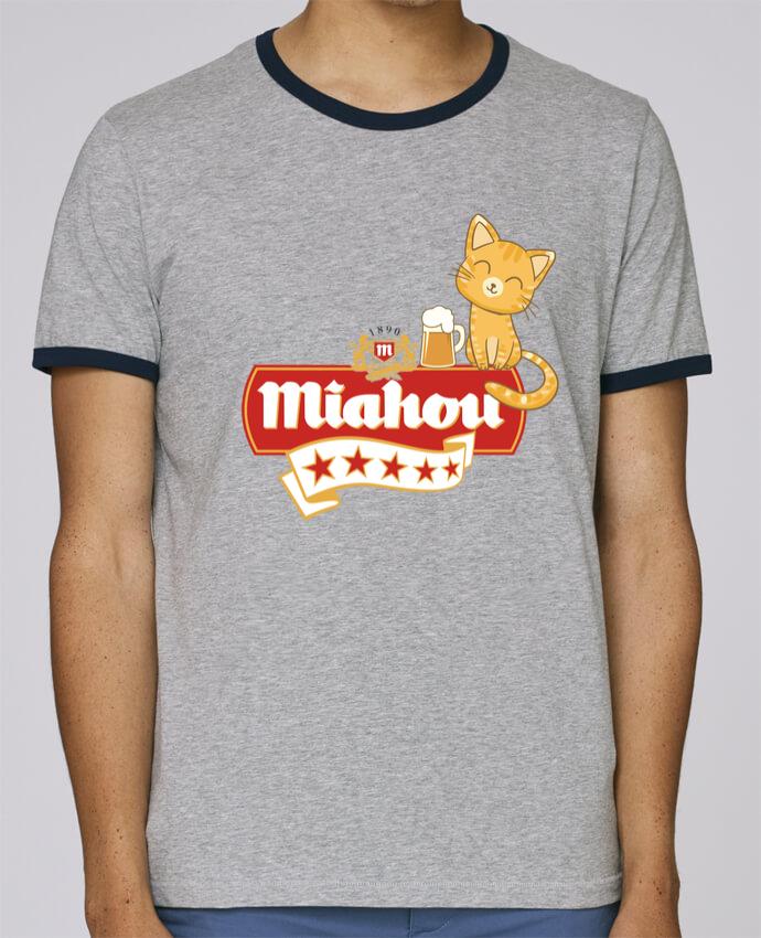 T-Shirt Ringer Contrasté Homme Stanley Holds Miahou pour femme par ParanoiaRecords