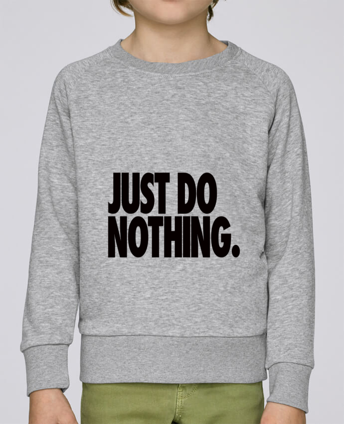 Sweat Col Rond Enfant Stanley Mini Scouts Just Do Nothing par Freeyourshirt.com
