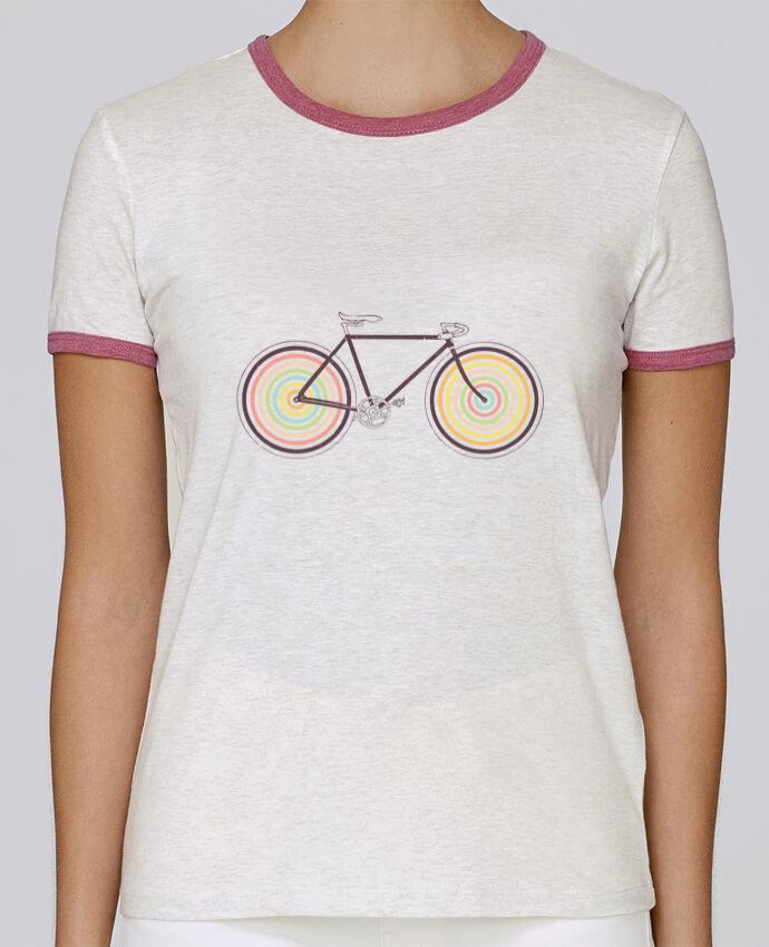 T-shirt Femme Stella Returns Velocolor pour femme par Florent Bodart