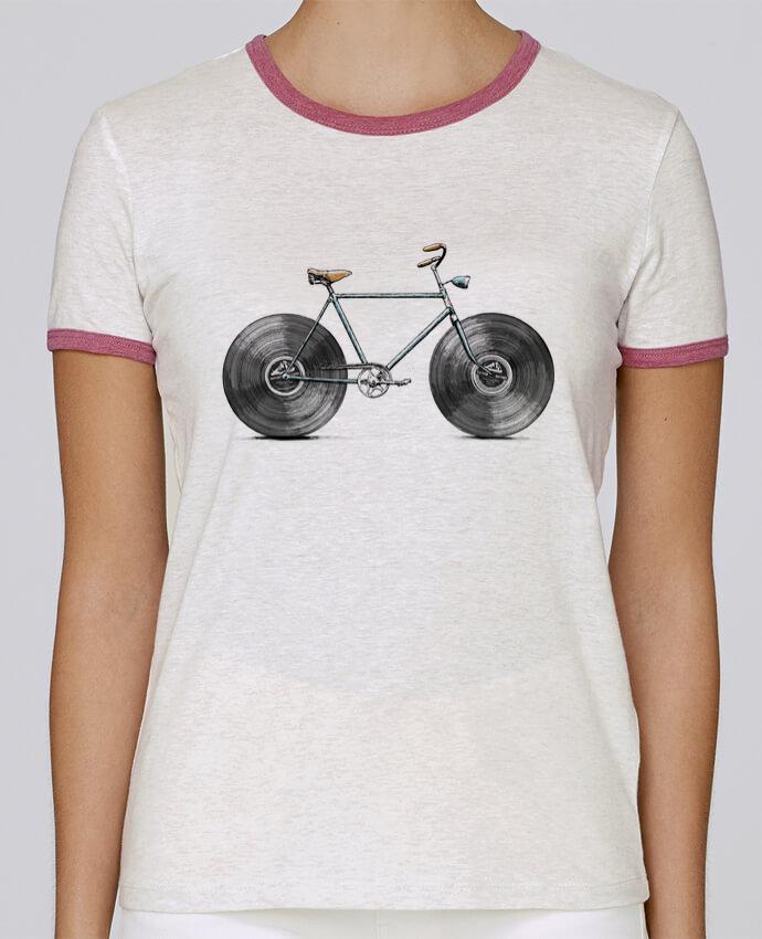 T-shirt Femme Stella Returns Velophone pour femme par Florent Bodart