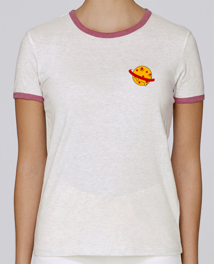 T-shirt Femme Stella Returns Planète Pizza pour femme par WBang