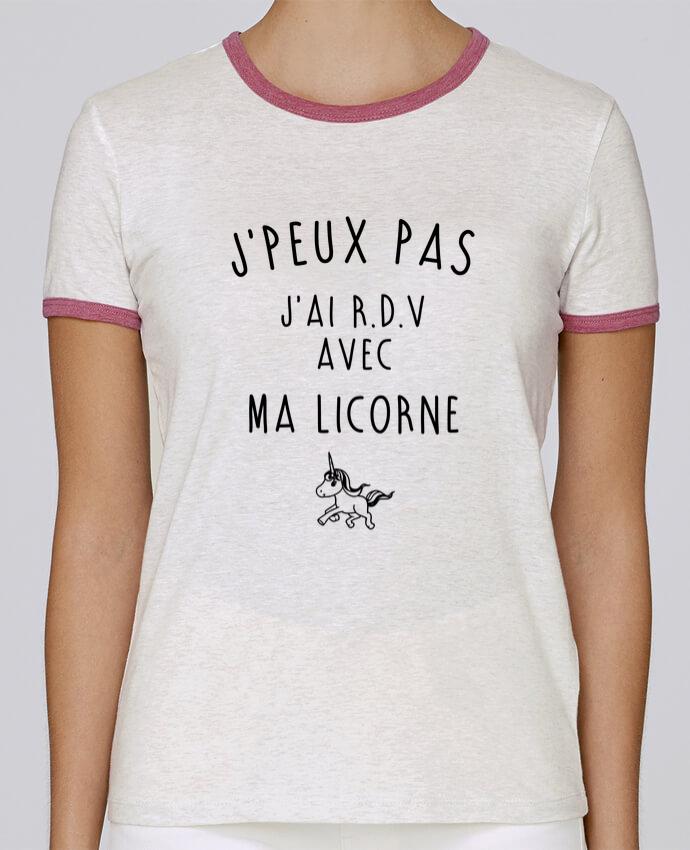 T-shirt Femme Stella Returns J'peux pas j'ai r.d.v avec ma licorne pour femme par LPMDL