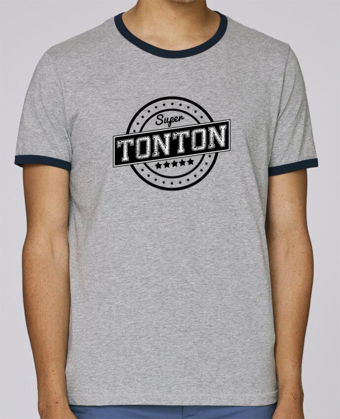 T-Shirt Ringer Contrasté Homme Stanley Holds Super tonton pour femme par justsayin